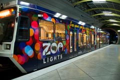 The zoo will double its discounts for MAX riders at ZooLights.