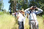 Chehalem Ridge tour group