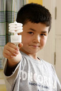 Lightbulb boy
