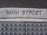 Main street marker