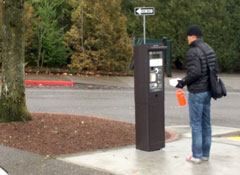 Washington Park pay stations