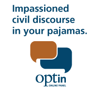 Impassioned civil discourse in your pajamas - Opt In