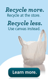 Recycle more. Recycle less. Bags