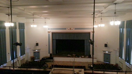 See how P5 helped Roosevelt High School's auditorium