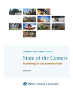 Cover of State of the Centers report