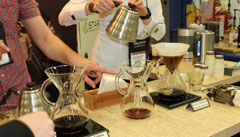 Preparing specialty coffee