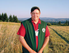 Photograph of volunteer Dave Green