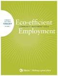 Eco-efficient Employment toolkit cover