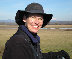 Photograph of volunteer Patty Newland