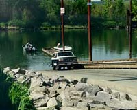 Photograph of Sauvie Island Boat Ramp