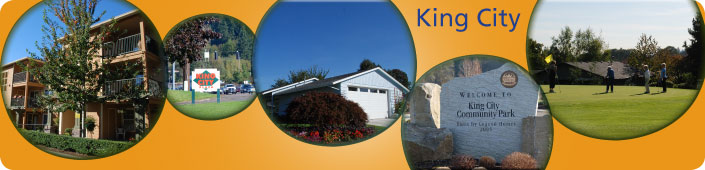The City of King City is a small community nestled between the Tualatin River and the south slope of Bull Mountain in Washington County, Oregon.