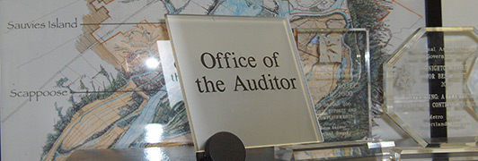 the Office of the Auditor