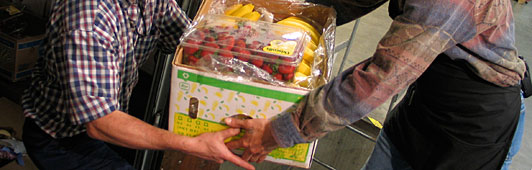 photo of food donation
